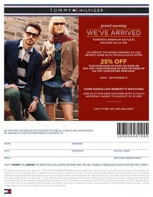 Tommy Hilfiger Canada Coupons & Promo Codes. Canadians can now enjoy online shopping of Tommy Hilfiger collections for men, women and children at blogdumbwebcs.tk Find below all of the latest promotional codes and discounts for Tommy Hilfiger's online store.