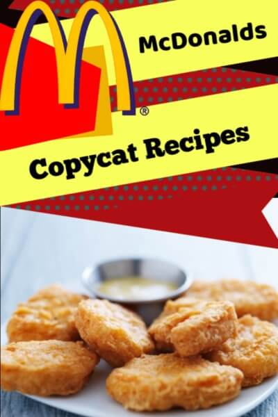 Mcdonalds Copycat recipes - Try these recipes at home