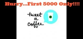 Starbucks Tweet A Coffee Is Back – FREE eGifts(First 5000 Only)