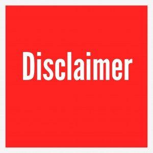 Disclaimer