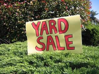 Top 10 items to buy at Yard Sales