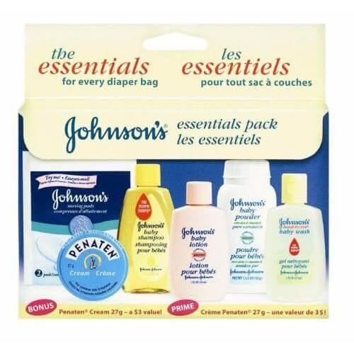 Johnson Canada Free Baby Pack