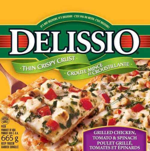 Delissio Frozen Pizza Recall