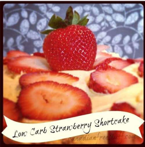 Low Carb Strawberry Shortcake Recipe
