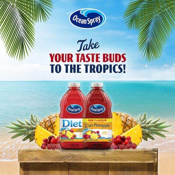 Ocean Spray Tropics Contest: (Previous)