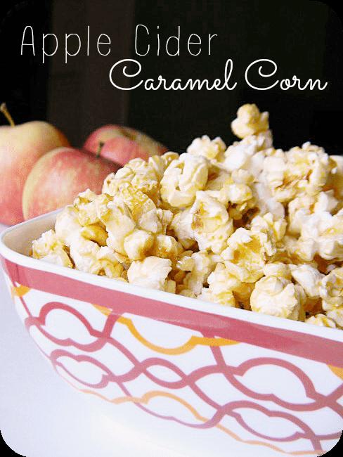 Apple Cider Caramel Corn Recipe