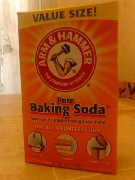 Arm & Hammer Baking Soda - Color