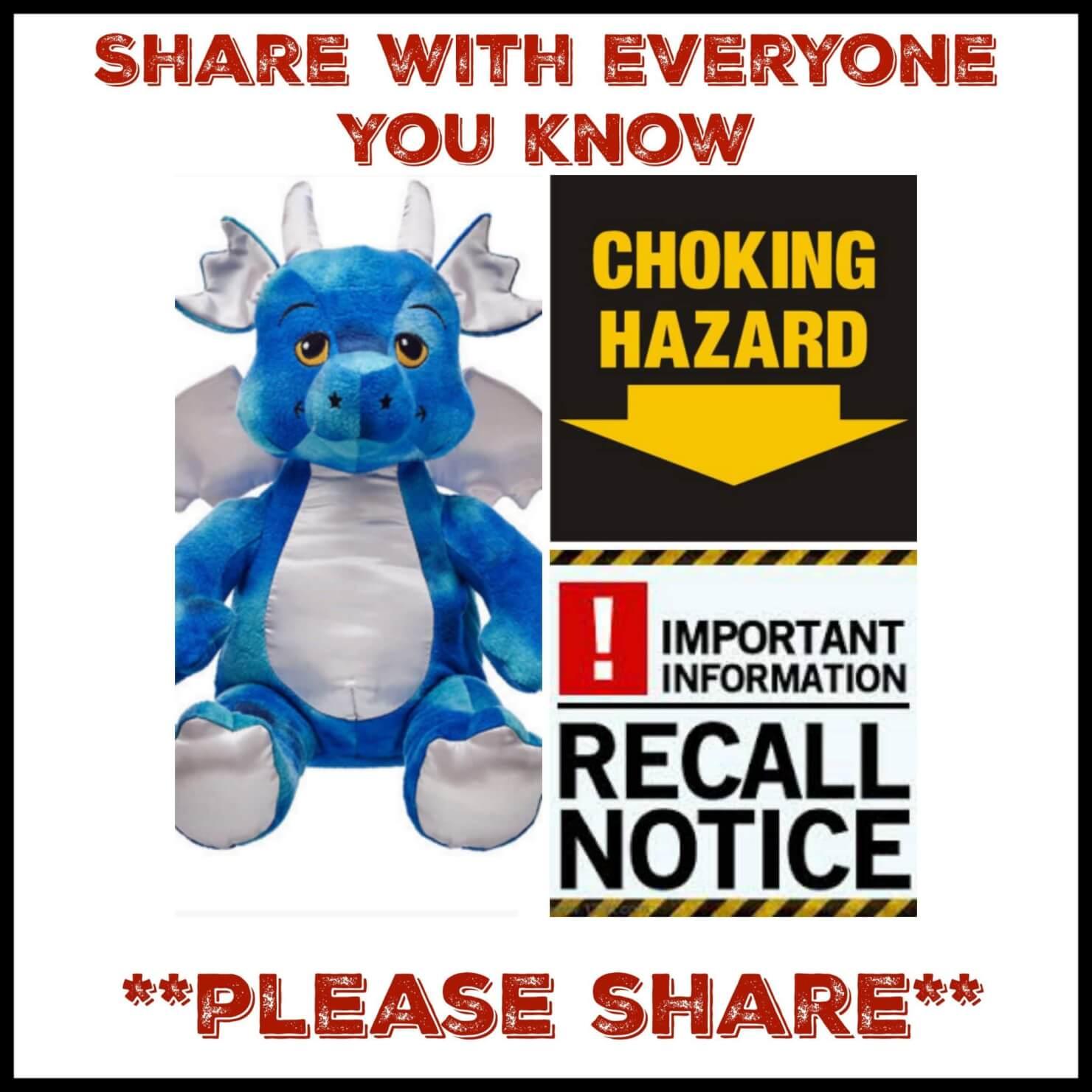 743f081136a Build A Bear Recall For Canada - Choking Hazard!!