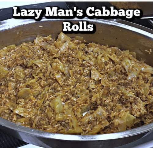 Lazy Cabbage Rolls – Easy Unstuffed Cabbage Rolls Recipe