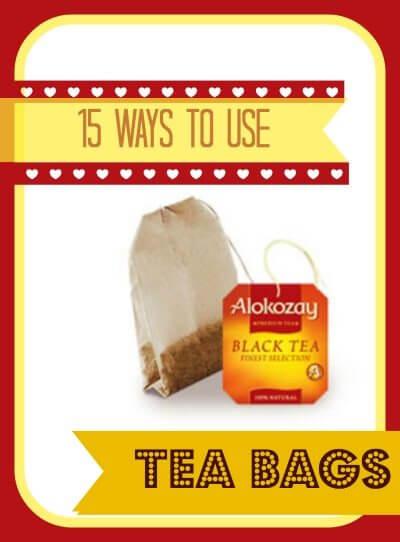 15 Uses for Alokozay Tea Bags