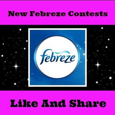 Febreze Contest – Win Tabletop Air Purifier
