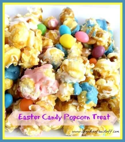 Easter Popcorn Treat Recipe