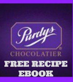 Purdy's Canada Free Recipe Book Downloads