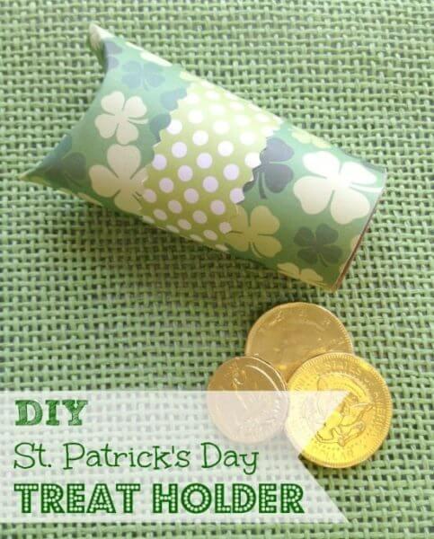 DIY St. Patrick's Day Treat Holder