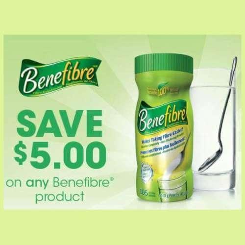 Canadian Coupons: Save $5 On Benefibre Through SmartSource.ca *Printable Coupon*