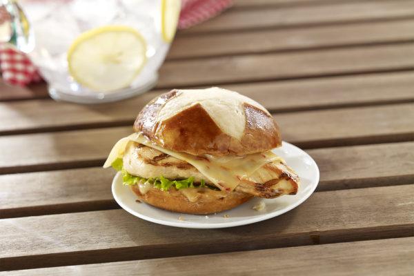 Chicken Asiago Ranch Sandwich