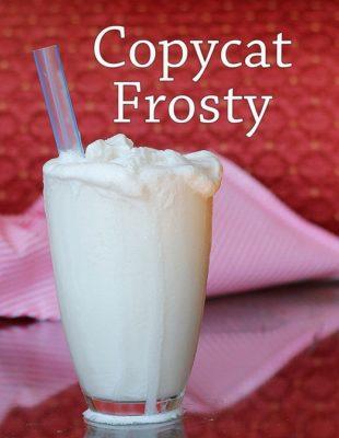 Healthier Wendys frosty recipe