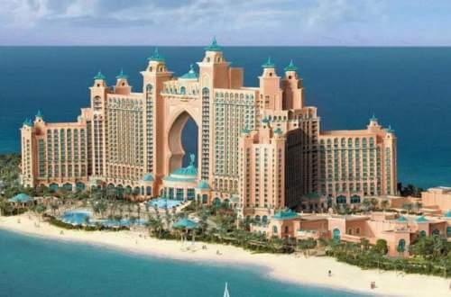 Dubai Famous Hotels The Palm Atlantis Hotel