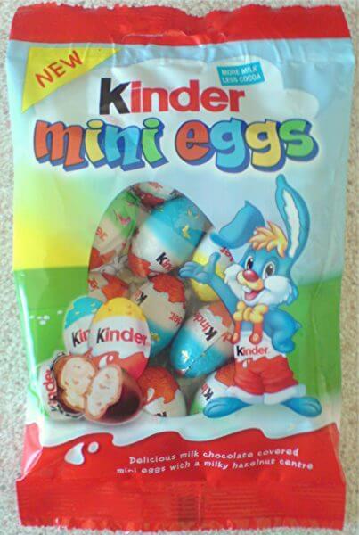 FREE Kinder Mini Eggs Sampling Opportunity