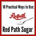 10 Uses for RedPath Sugar