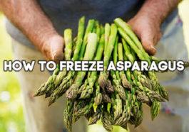 fresh asparagus with words how to freeze asparagus