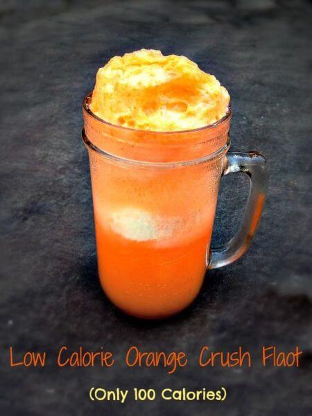 Low Calorie Orange Crush Float Recipe