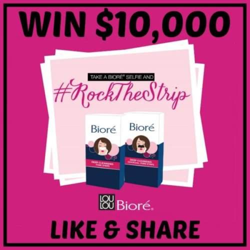 Biore Contest – Win $10,000 CASH