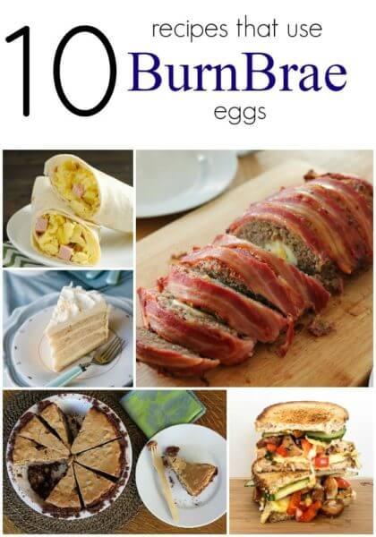 10 Burnbrae Egg Recipes