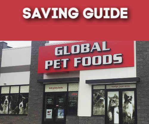 Global Pet Foods Canada Savings Guide