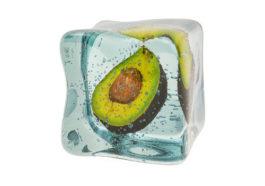 thaw frozen avocado