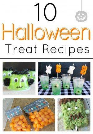 10 Halloween Treat Recipes