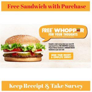 Burger king printable coupons canada 2019