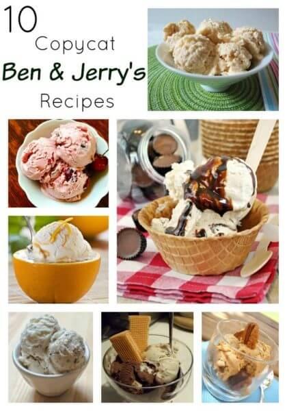 Ben & Jerry's Copycat Recipes