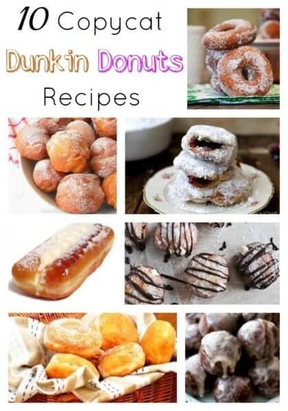 10 Copycat Dunkin Donuts Recipes