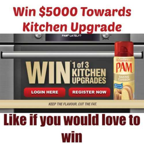 Pam Cooking Spray Contest Win 1 of 3 Kitchen Upgrades