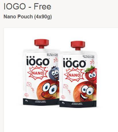FREE IÖGO Yogurt!!!