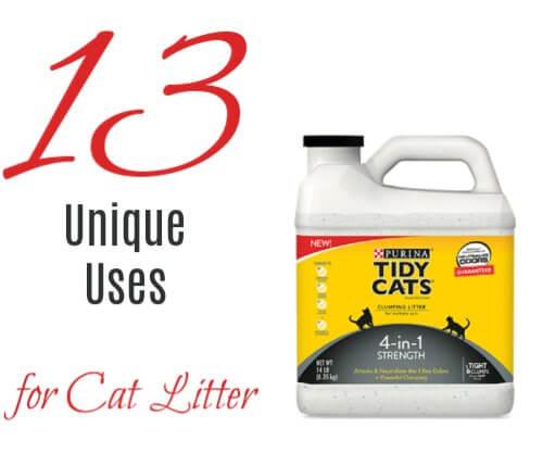 Cat Litter 13 Uses