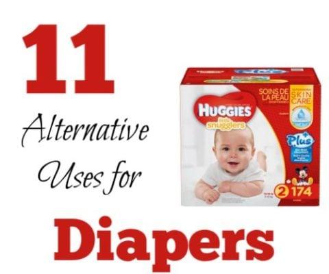 11 Unusual uses for Huggies Diapers