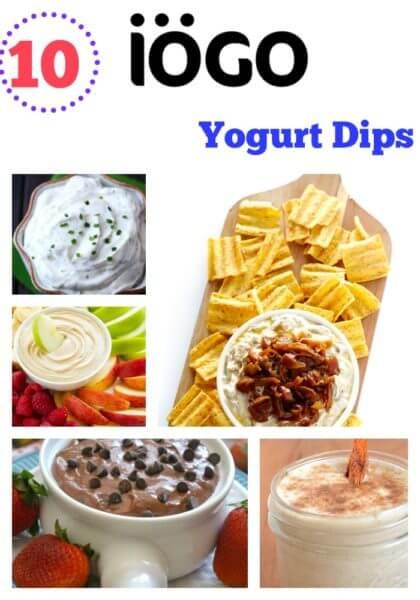 Iogo Yogurt Dip Recipes