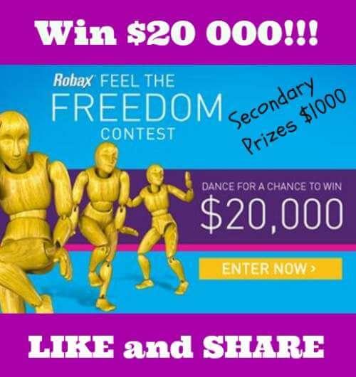 Robax Contest – Win $20 000 Cash