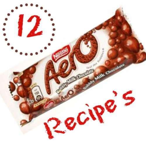 Aero Chocolate Recipes
