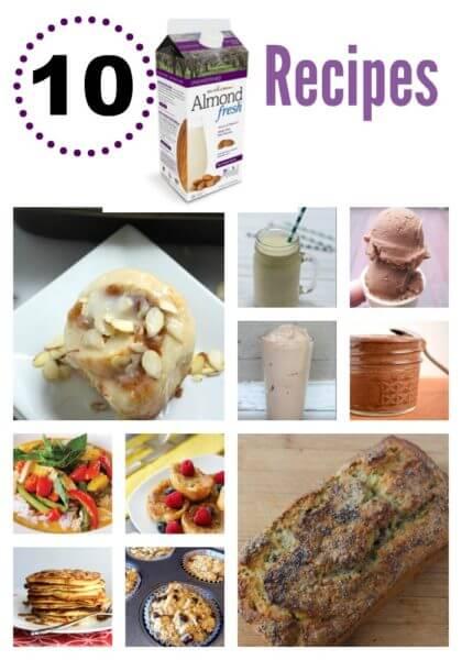 Almond Fresh Recipe Roundup