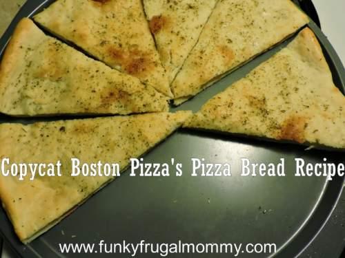 , Boston Pizza Copycat Recipes