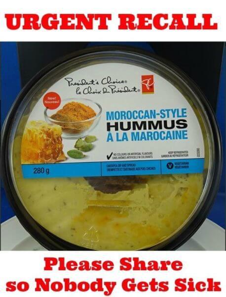 presidents choice hummus