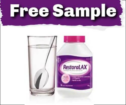 FREE RestoraLAX Sample Packs!