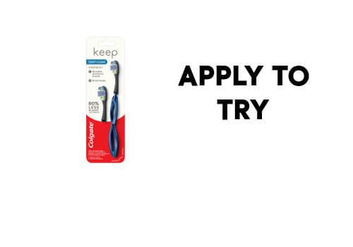 Colgate Free Toothbrush Sample