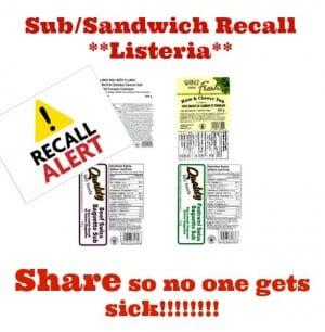 sub recall july 12