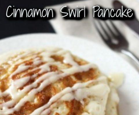 Cinnamon Swirl Pancake Recipe