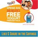 Free Yoplait Freezer Pack from Yoplait