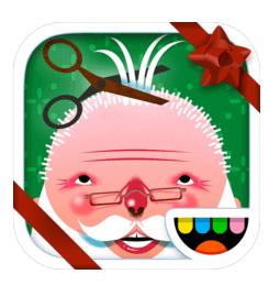 haircut-santa